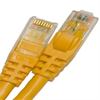 CAT6 550MHZ ETHERNET PATCH CORD YELLOW 14 FT -- 26-266-168 -Image