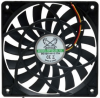 Scythe Slip Stream Slim Low Profile 120mm Fan - 1200 RPM -- 16986 -- View Larger Image