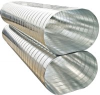 Spiral Flat Oval Air Duct
