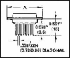 AMPHENOL COMMERCIAL PRODUCTS - 17DA159F179 - D SUB CONNECTOR, STANDARD, 15POS, PLUG -- 995740 - Image