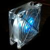 40mm Blue LED Fan -- 1015 -- View Larger Image
