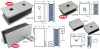 Magnet Latches and Catches, Latch Magnet Assemblies