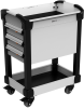 MultiTek Cart 3 Drawer(s) -- RV-DB37S3F004B -Image