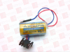 MITSUBISHI A6BAT ( LITHIUM BATTERY, 3.6V, 2100 MAH,A6BAT/ ER17330V, LI-ION INDUSTRIAL BATTERY W/ PLUG )