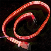Flexiglow PC SATA Cable 50cm Illuminated Red -- 14924