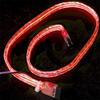 Flexiglow PC SATA Cable 50cm Illuminated Red -- 14924