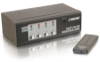TruLink® 4-Port UXGA Monitor Switcher/Extender with 3.5mm Audio -- 2006-39972-ADT