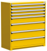 Heavy-Duty Stationary Cabinet (with Compartments), 8 Drawers (54