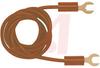 Patch Cord, Spade Lug; 36 in.; 12 AWG; Polypropylene (Spade Lug), PVC (Wire) -- 70197855