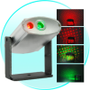 Laser Effects Projector With Red And Green Lights -- CVGF-G25 - Image