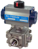 3-Way SS Ball Valve -- IS-3W Series - Image