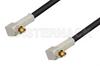 MC-Card Plug Right Angle to MC-Card Plug Right Angle Cable 48 Inch Length Using RG174 Coax, RoHS -- PE36126LF-48 -Image