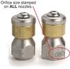 ST-49 Rotating Sewer Nozzle -- 200049600 - Image