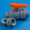 Nibco® Chemtrol Heavy Duty True Block Union Ball Valves -- 18221 - Image