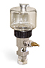 "(Formerly B1681-14), Single Feed Manual Lubricator, 5 oz Polycarbonate Reservoir, 5/8""-18 Female Thread for Remote Mounting, 1/8"" Female NPT Outlet -- B1681-0055B11W -- View Larger Image"