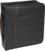 Case Logic 208 Capacity CD Wallet - Faux Leather - Black -- KSW-208BLACK