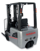 3-Wheel AC-powered Forklift, Nissan Forklift -- TX Platinum Series