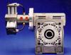 Dynatork Free Piston Air Motor with Worm Gearbox -- 80W7