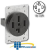 Leviton 120/208V Flush Mount Receptacle -- 8330 - Image