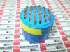 CIRCULAR CONNECTOR INSERT MIL-C-5015 EQUIVALENT 30 SOCKET SOLDER 32 32-8 -- 97328S - Image