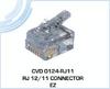 RJ 12/11 EZ Connector -- CVD 0124-RJ11