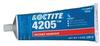 Henkel Loctite Prism 4205 Instant Adhesive Thermal Resistant Gel 200 g Tube -- 28029