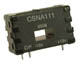 CSN Series closed loop linear current sensor, measures ac, dc or impulse current, 50 A nominal, ±100 A range, 2000 turns -- CSNB121 - Image