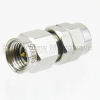 3.5mm Male (Plug) to 1.85mm Male (Plug) Adapter, Passivated Stainless Steel Body, 1.25 VSWR -- SM3995 - Image