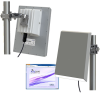 5.8 GHz Outdoor 100 Mbps Wireless Ethernet Bridge -- AW58100HTP-PAIR