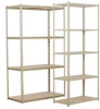 Add-On Unit,4 Shelves,18 x48 x84 In,Sand -- ZV7-4818A-4D SAND - Image