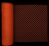 Orange Diamond Link Fence -- 14988