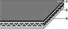 TC Tangential/flat Polyamide Power Transmission Belt -- TC-55ER - Image