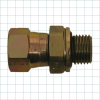 37° Flare Hydraulic Fitting -- Female Flare Port Fittings - Image