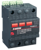 AC Surge Protector SPD I2R DIN-Rail 120/208 Vac 3-Phase Wye MOV 40 kA -- 1102-014-40 -Image