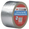 FSK Facing Tape,W 3 In,L 50 Yd,Silver -- 15F817