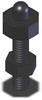 Miniature Jack - 37 mm - M6 Thread -- BJ331-20002