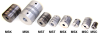 Slit Type Flexible Couplings (inch) -- S50MST-A07P62P62 -Image