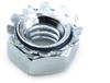 #10-24 K-Lock Nut, Zinc -- NG2KEP01024Z - Image