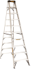 10' Aluminum Stepladder 300 lbs. Load Capacity -- DXL2010-10 - Image