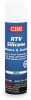 RTV Silicone Sealant,White,7.25 Oz -- 2YE20