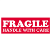 "1 1/2in x 4in ""Fragile Handle With Care"" Labels -- SCL203"
