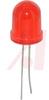 LED; Diffused Red; 2 V; 10 mm (T-3); 30Degrees; 36 mcd; 2 Leads -- 70054142