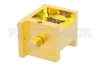 Waveguide Up Converter Mixer WR-19 From 40 GHz to 60 GHz, IF From DC to 18 GHz And LO Power of +13 dBm, UG-383/U Flange, U Band -- PE13U1003 -Image