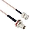 BNC Male to BNC Female Bulkhead Mount Using Flexible RG316 Coax Cable 12