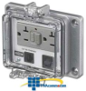 Hubbell Panel-Safe 20A 125V, GFCI with In-Cabinet.. -- PR205EB -- View Larger Image