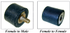 Compression Load Cylindrical Mounts (inch) -- A10Z 2-319A -Image