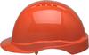 Elvex Tectra™ Safety Helmet, 6 Point Suspension, Orange -- SC-50-6R