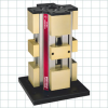 Vises with Quick-Change Machinable Jaws -- Four-Sided Manual Tower Clamping