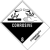 "4in x 4 3/4in ""Compounds, Cleaning Liquid"" Labels -- DL524P1"