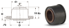 Press-Fit Sleeve Bearings (metric) -- A 7Z41MPSB15M